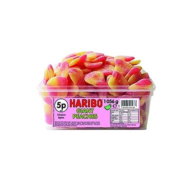 HARIBO 5P GIANT PEACHES