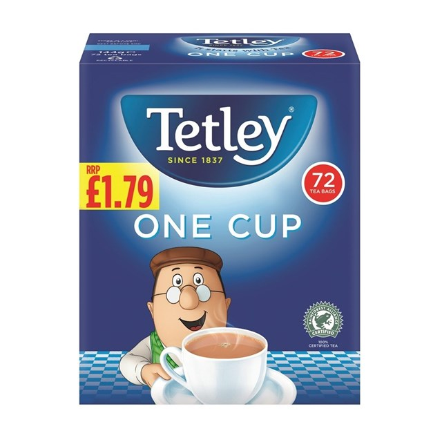 TETLEY ONE CUP 72'S