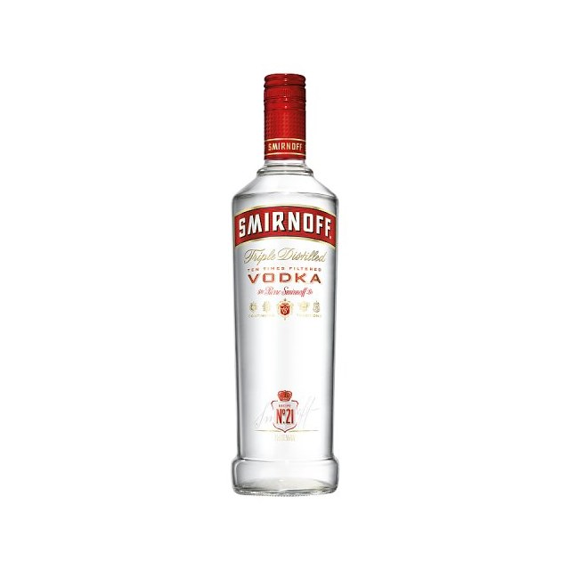 SMIRNOFF VODKA SINGLE BOTTLE