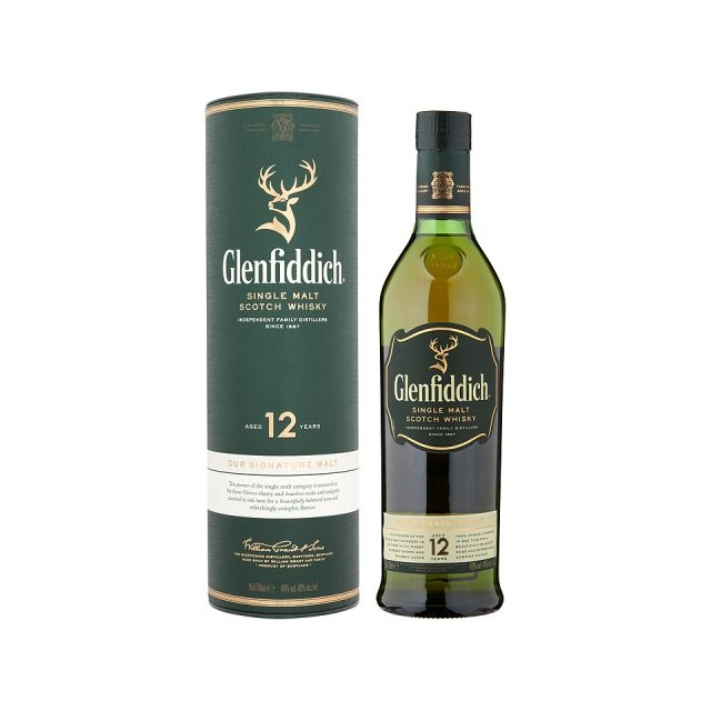 GLENFIDDICH MALT WHISKY 12 Y.O