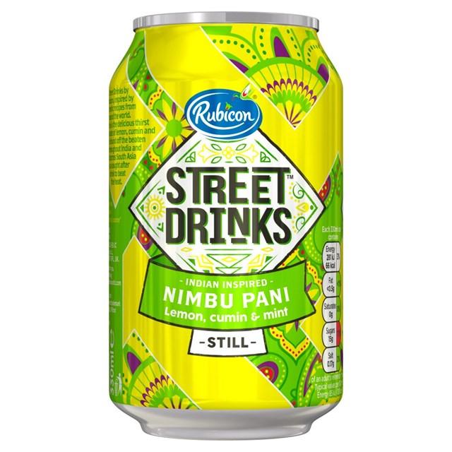 RUBICON STREET LEMON & MINT - NIMBU PANI