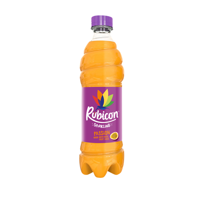 RUBICON SPARKLING PASSION FRUIT DRINK 500ml (12 PACK)