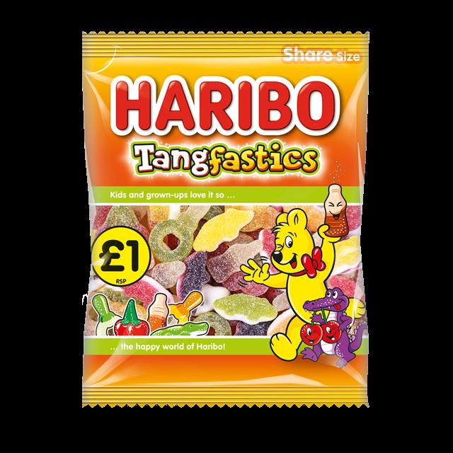 HARIBO £1 TANGFASTICS 160g (12 PACK)