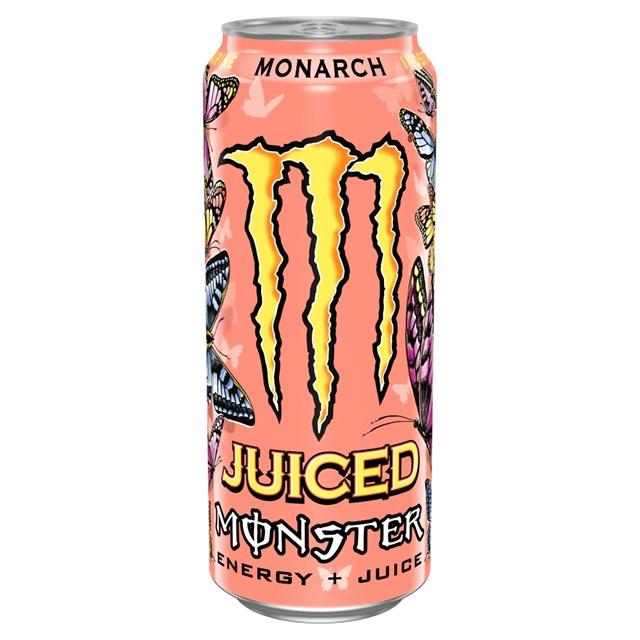 MONSTER ENERGY DRINK MONARCH 500ml £1.45 (12 PACK)