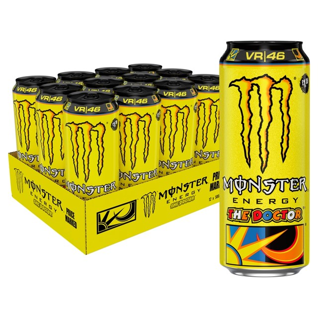 MONSTER ENERGY DRINK THE DOCTOR £1.35 12 CANS