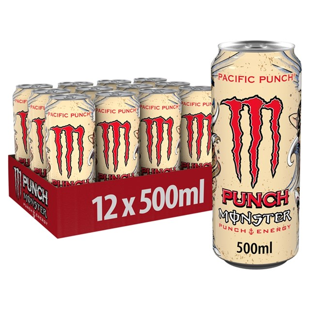 MONSTER £1.39 PACIFIC PUNCH