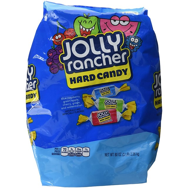 JOLLY RANCHER HARD CANDY 2.26kg 360 PIECES