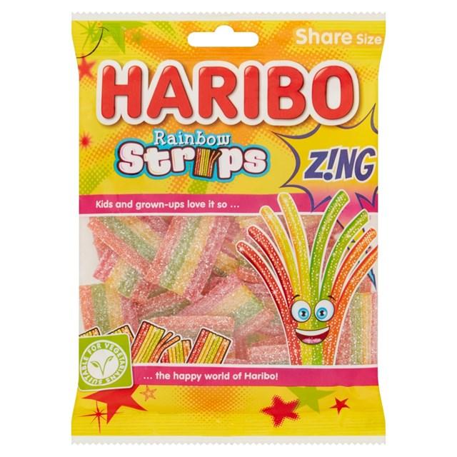 HARIBO £1 SOUR RAINBOW SPAGHETTI