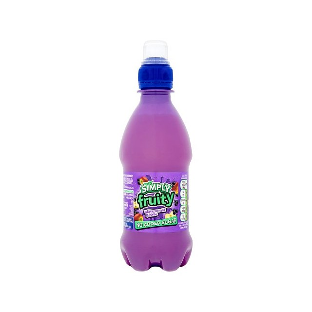 SIMPLY FRUITY BLACKCURRANT