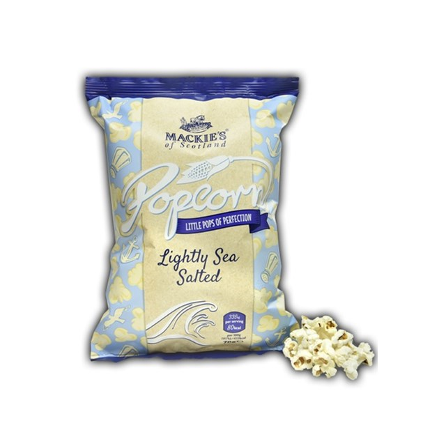 MACKIES LARGE LIGHTLY SALTED POPCORN 70g (8 PACK)