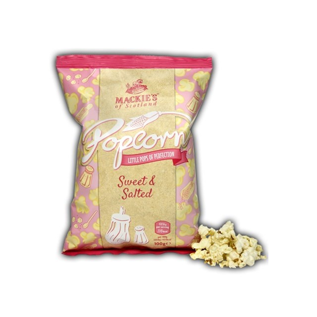 MACKIES LARGE SWEET & SALTED POPCORN