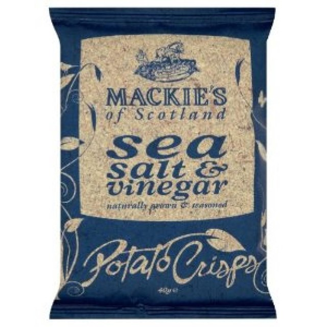 MACKIES CRISPS SEA SALT & VINEGAR