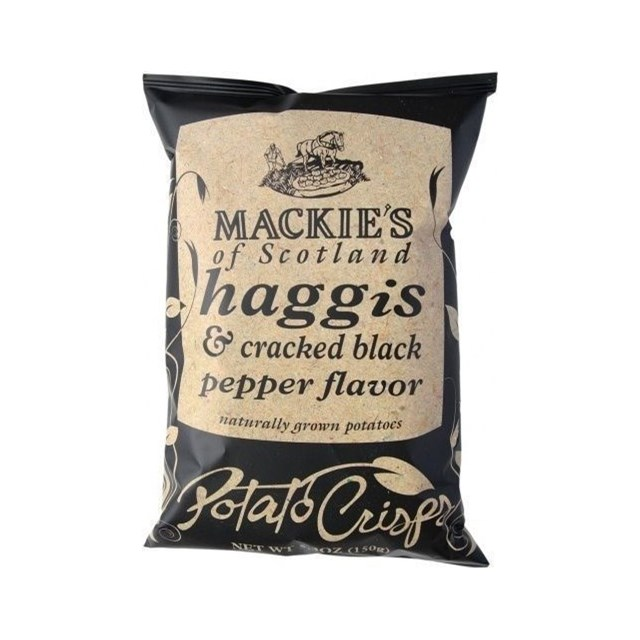 MACKIES CRISPS HAGGIS & BLACK PEPPER
