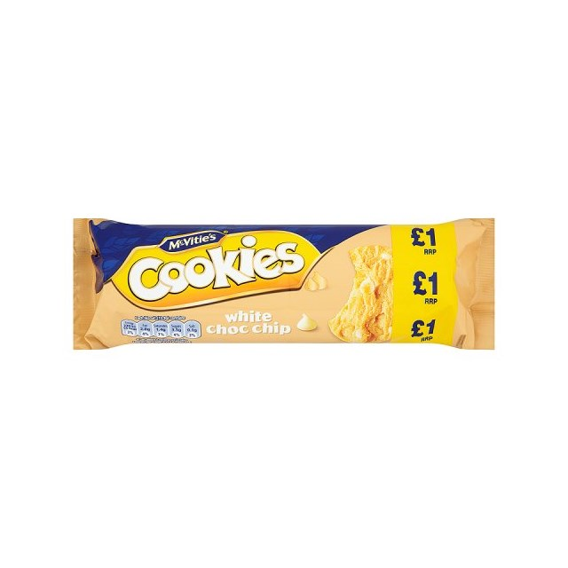 MCVITIES £1 WHITE CHOC CHIP