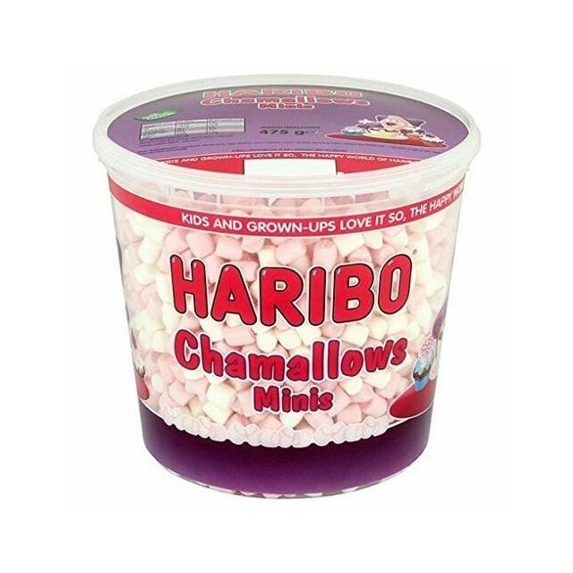 **HARIBO TUBS MINI CHAMALLOWS 475g