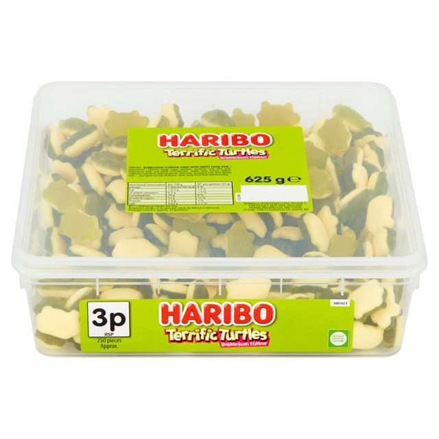 HARIBO 2P TERRIFIC TURTLES