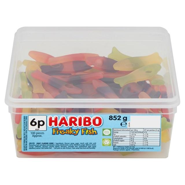 HARIBO 5P FREAKY FISH