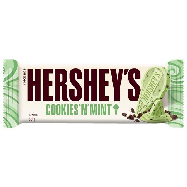 HERSHEY'S COOKIES & MINT