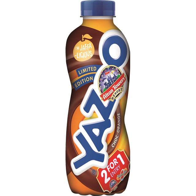YAZOO CHOCOLATE ORANGE 400ml LIMITED EDITION (10 PACK)