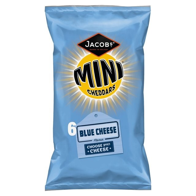 MINI CHEDDARS 6PACK BLUE CHEESE