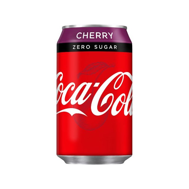 COKE ZERO CHERRY CANS