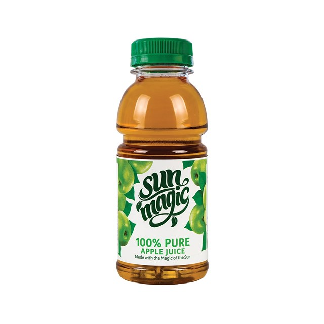 SUNMAGIC 330ML PURE APPLE JUICE