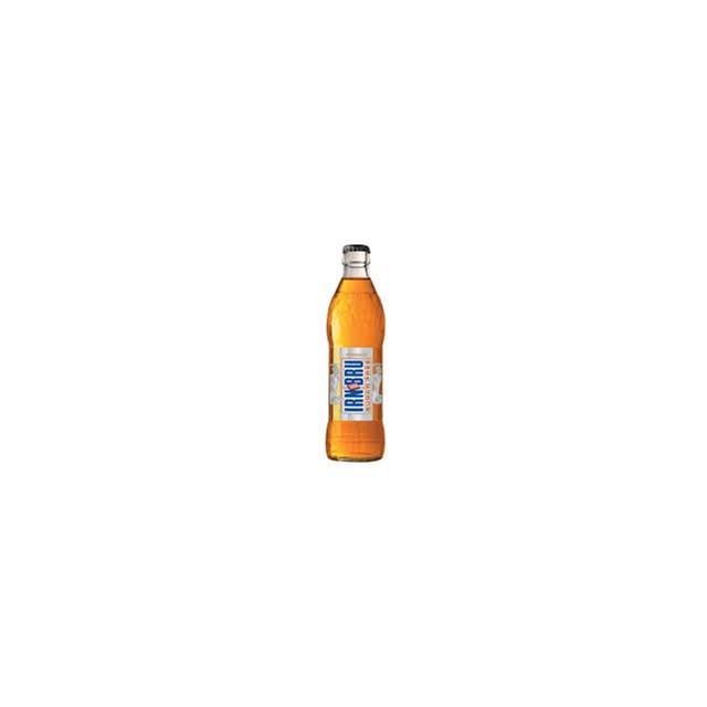 BARRS SUGAR FREE IRN BRU GLASS BOTTLES 330ml (24 PACK)