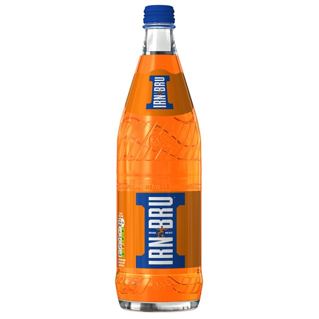 BARRS IRN BRU GLASS BOTTLES 750ml (12 PACK)