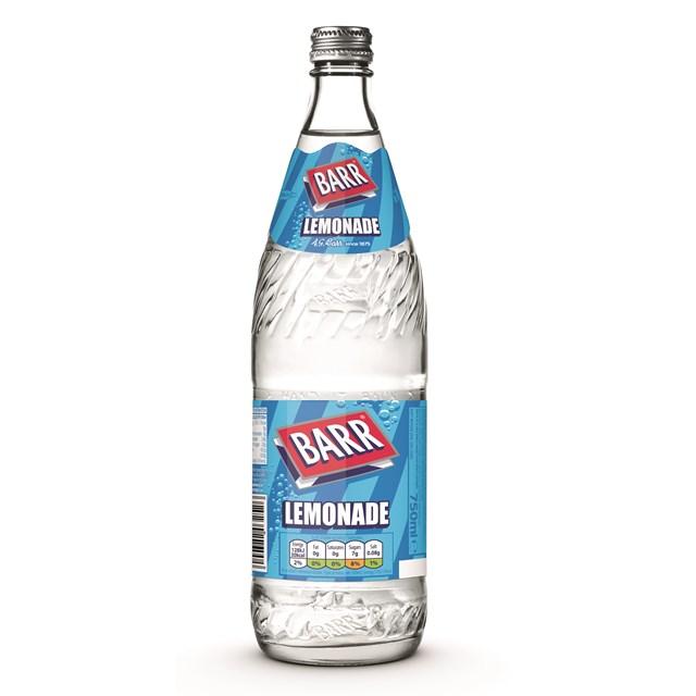 BARRS GLASS 750ML LEMONADE