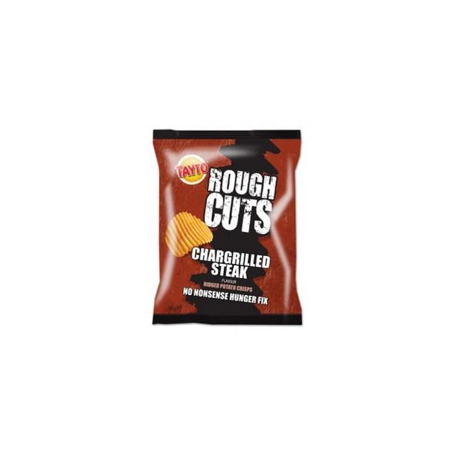TAYTO ROUGH CUTS STEAK & ONION 50G