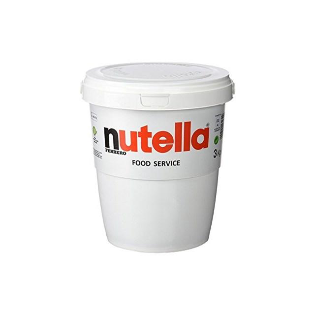 NUTELLA GIANT 3kg TUB CHOCOLATE HAZELNUT SPREAD / Buy Online