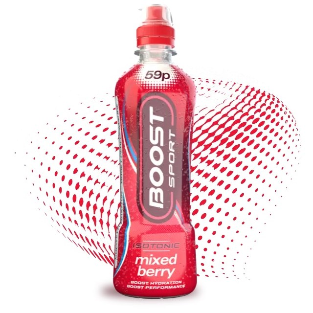 BOOST SPORT 50P MIXED BERRY