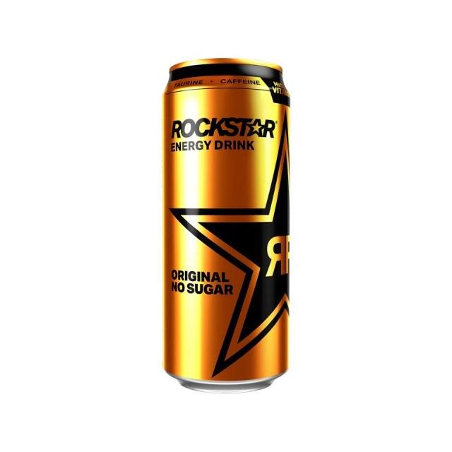 ROCKSTAR ENERGY DRINK ORIGINAL SUGAR FREE 500ml £1.19 (12 pack)