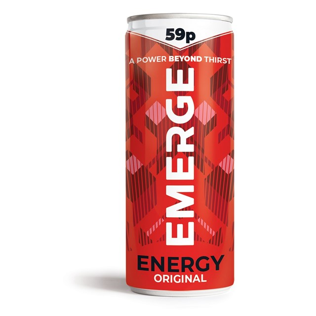 EMERGE ENERGY DRINK 250ML (24 PACK)