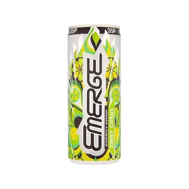 EMERGE ENERGY DRINK CITRUS 49P
