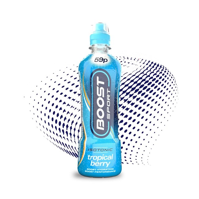 BOOST SPORT 50P TROPICAL BERRY