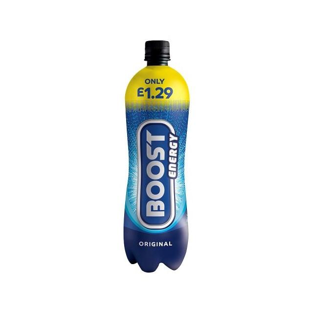 BOOST ENERGY DRINK ORIGINAL £1.29 1 Litre  (12 PACK)