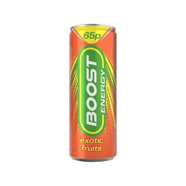BOOST ENERGY DRINK EXOTIC FRUITS 59P