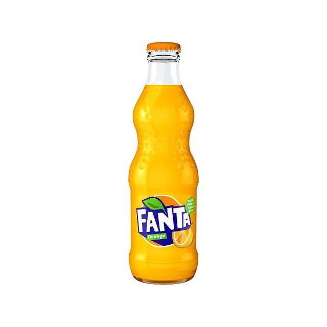 FANTA ORANGE GLASS