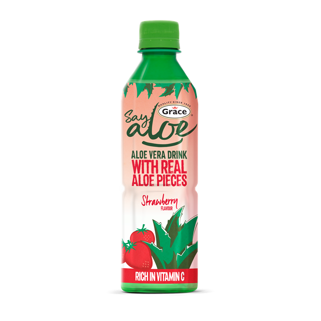 GRACE ALOE VERA STRAWBERRY REDUCED SUGAR