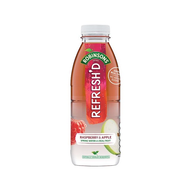 ROBINSONS REFRESHED RASPBERRY & APPLE