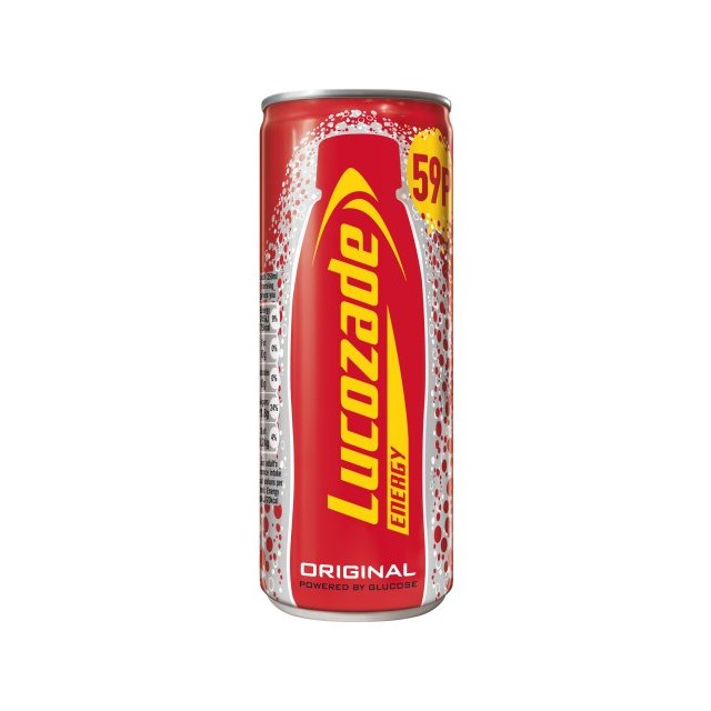 LUCOZADE 65P ENERGY ORIGINAL