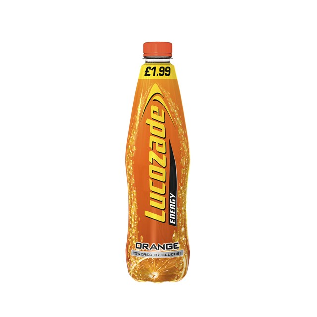LUCOZADE ENERGY ORANGE £1.99