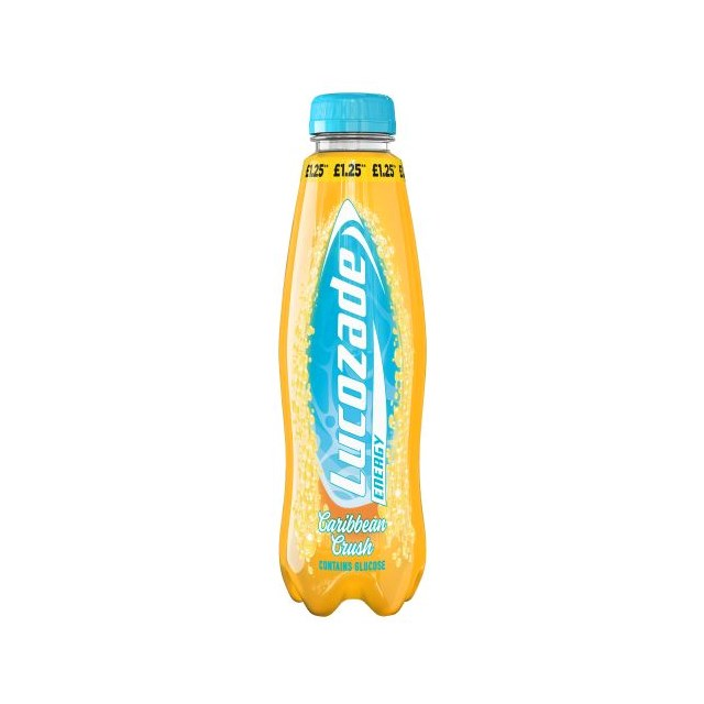 LUCOZADE ENERGY CARIBBEAN CRUSH £1.09 2 FOR £2