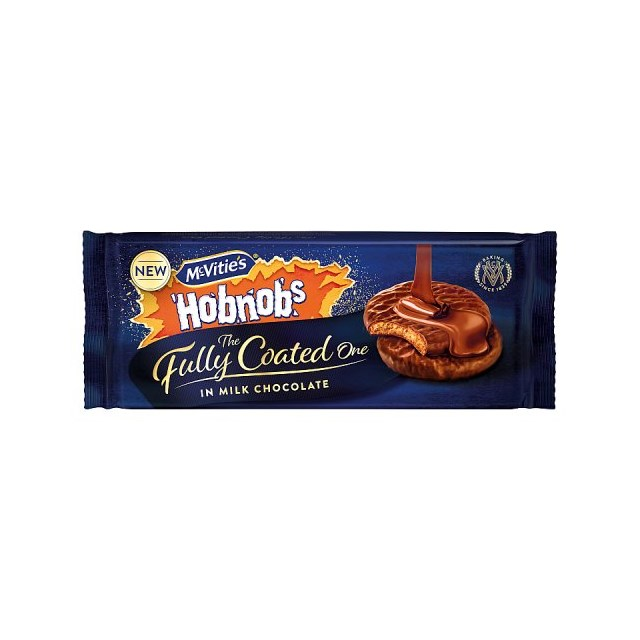 MCVITIES FULLY COATED HOBNOBS 300g (12 PACK)