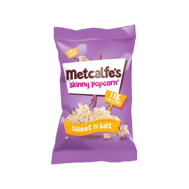 METCALFES SKINNY POPCORN SWEET & SALTED