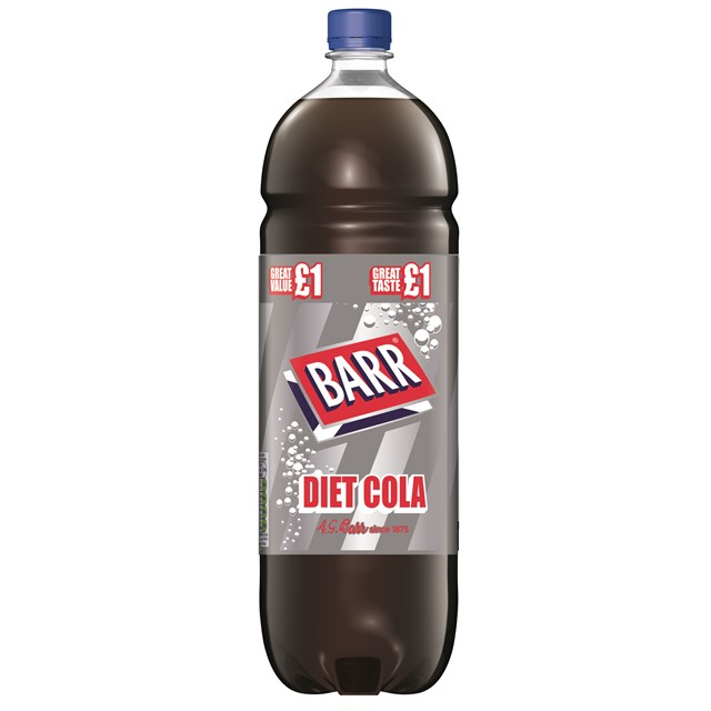 BARRS DIET COLA 2 Litre £1 (6 PACK)