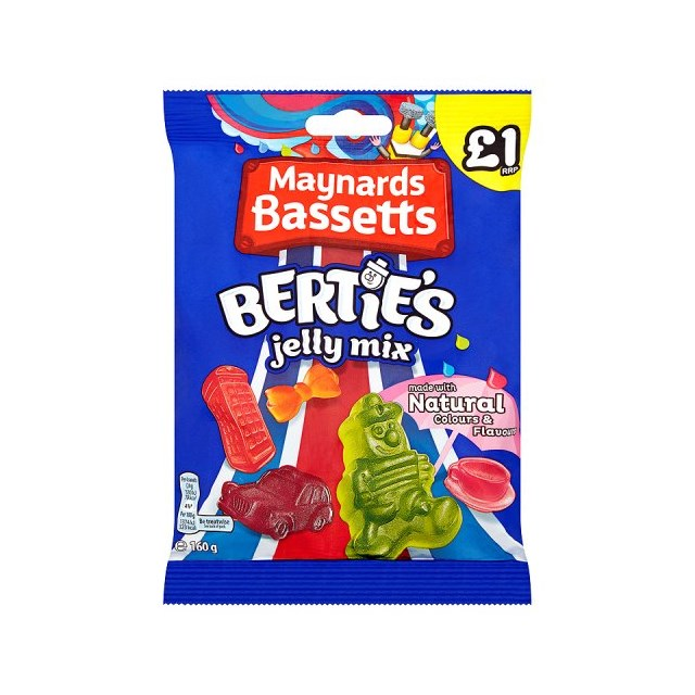 MAYNARDS £1 BERTIES JELLY MIX