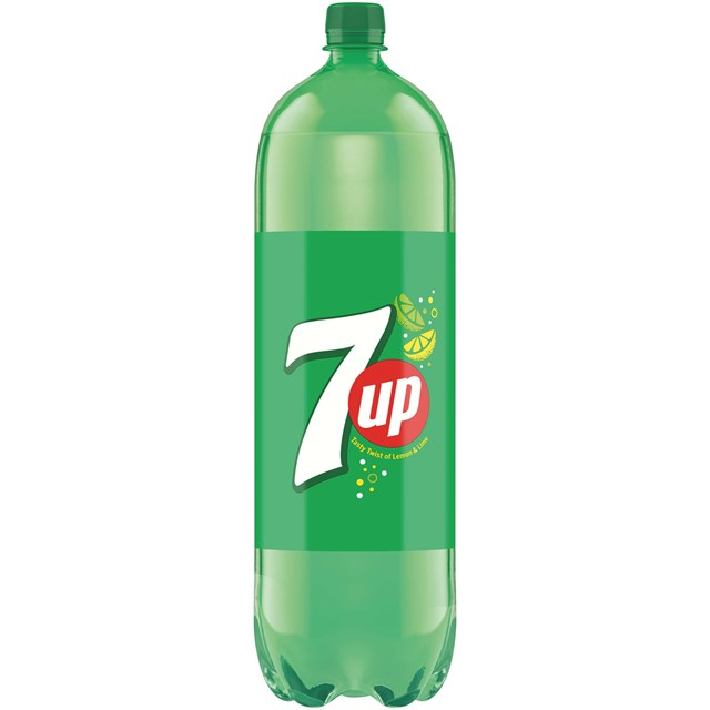 7UP SPARKLING LEMON & LIME FLAVOURED DRINK 2 Litre (8 PACK)