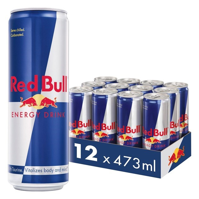 RED BULL ENERGY DRINK 473ML £2.15 (12 PACK)